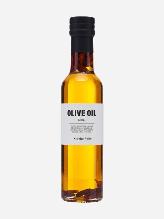 Nicolas Vahé - Olivenolie med Chili - 250 ml.