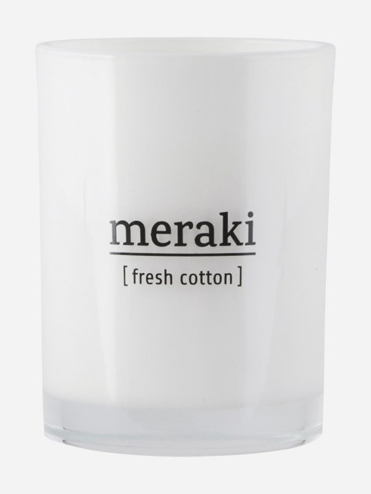 Meraki - Duftlys - Fresh Cotton - 35 timer