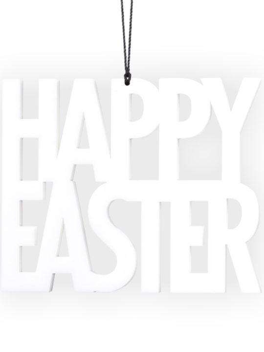 Felius Design Happy Easter Ophæng Hvid