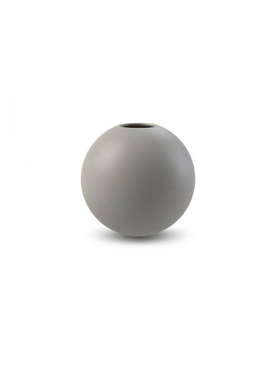 Cooee Design Ball vase grå Ø10 cm