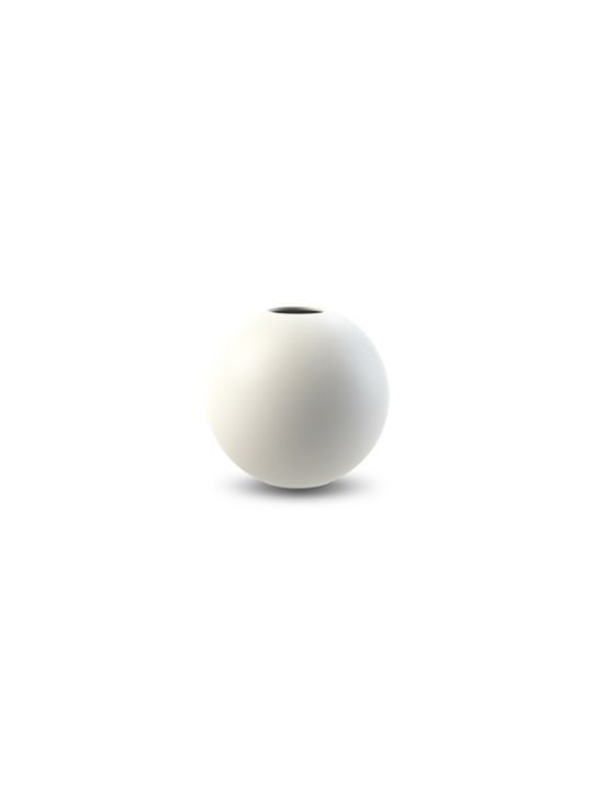Cooee Design Ball vase Hvid Ø8 cm
