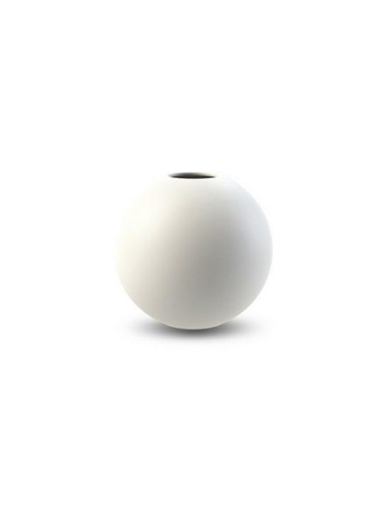 Cooee Design Ball vase hvid Ø10 cm