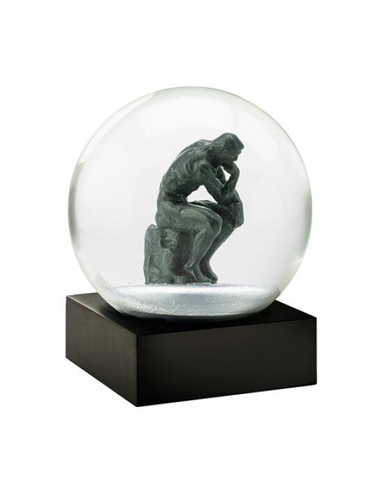 CoolSnowGlobes - The Thinker - 10 cm. Ø