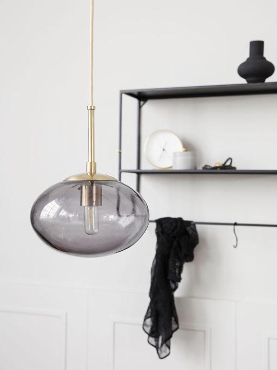 House Doctor - Lampe i opal-glas - Grå