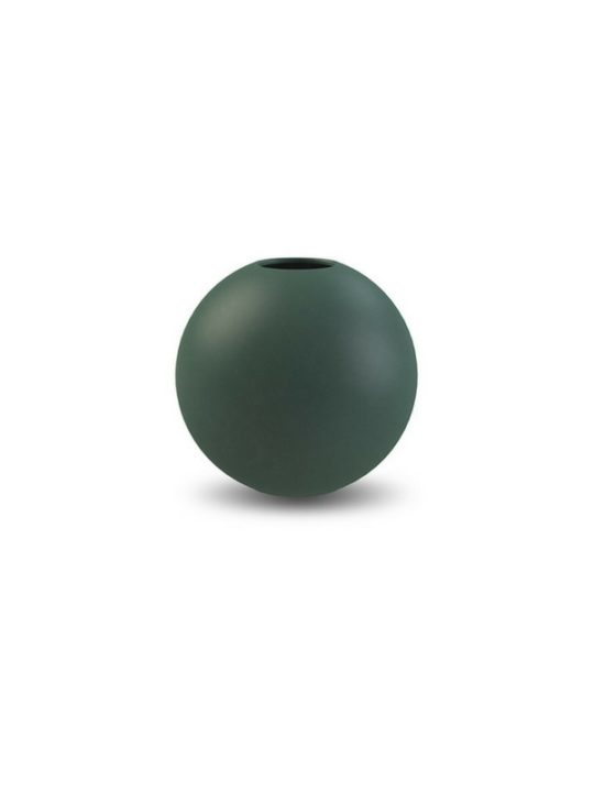 Cooee Design Ball Vase Dark Green Ø10 cm