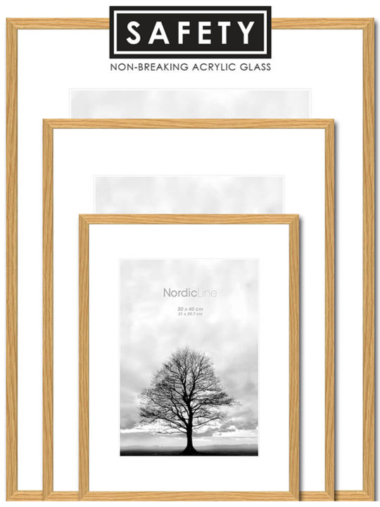 Incado - Nordic Line - Slim Oak Safety - 30 x 40 cm.