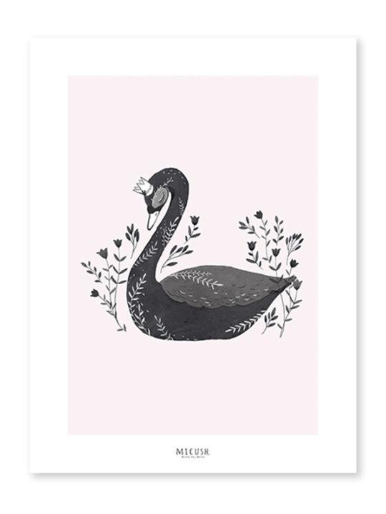 Lilipinso Plakat Black Swan - 30 x 40 cm