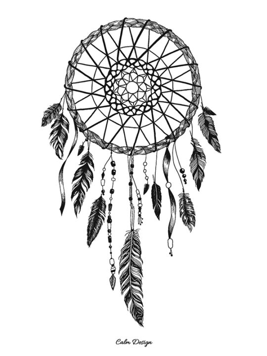 Calm Design Plakat - Dreamcatcher - A3