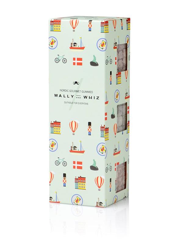 Wally and Whiz - Vegansk vingummi - 3 æsker - Denmark Box