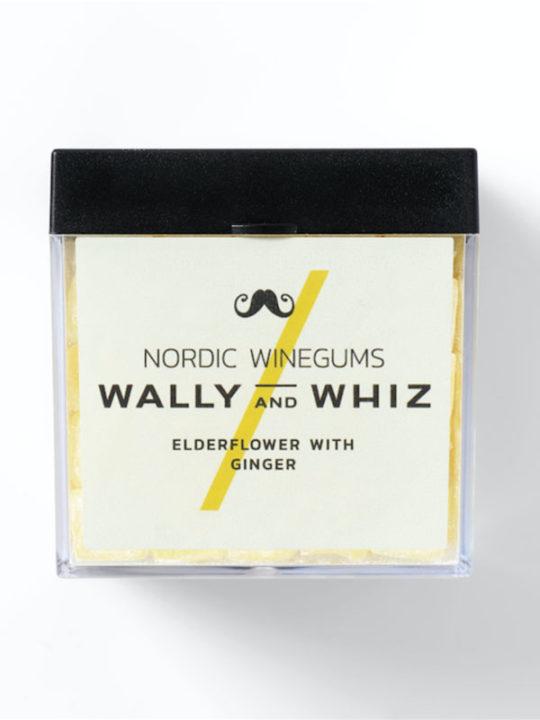 Wally and Whiz - Vegansk vingummi - Hyldeblomst med ingefær