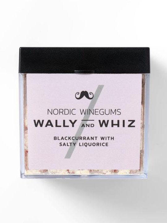 Wally and Whiz - Vegansk vingummi - Solbær med saltlakrids