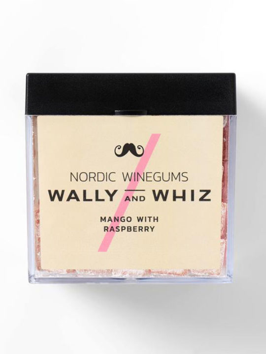 Wally and Whiz - Vegansk vingummi - Mango med hindbær