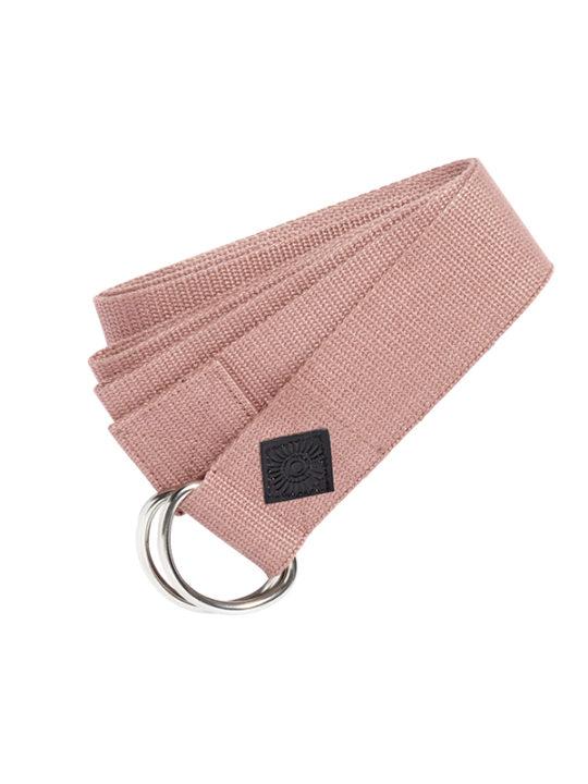 Nordal Yoga Træningsbælte - 200x4 cm - rosa