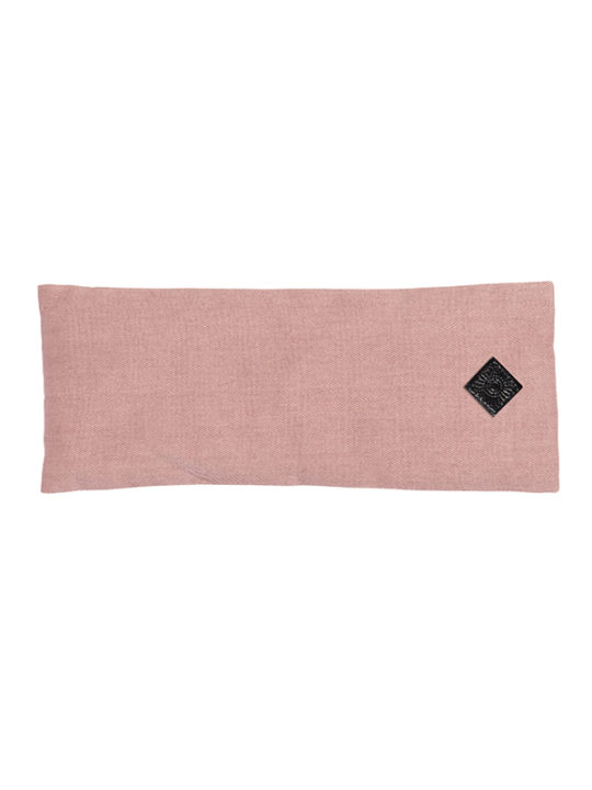 Nordal Yoga øjenpude 10x25 cm - rosa