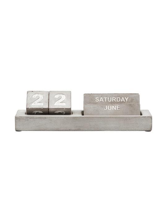 Monograph - Evighedskalender i beton
