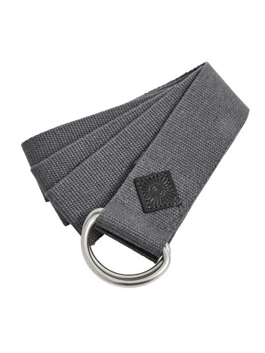 Nordal Yoga Træningsbælte - 200x4 cm - grå