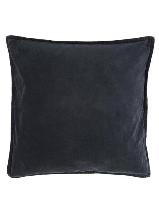 Ib Laursen - Pudebetræk - Velour - Midnatsblå - 50 x 50 cm