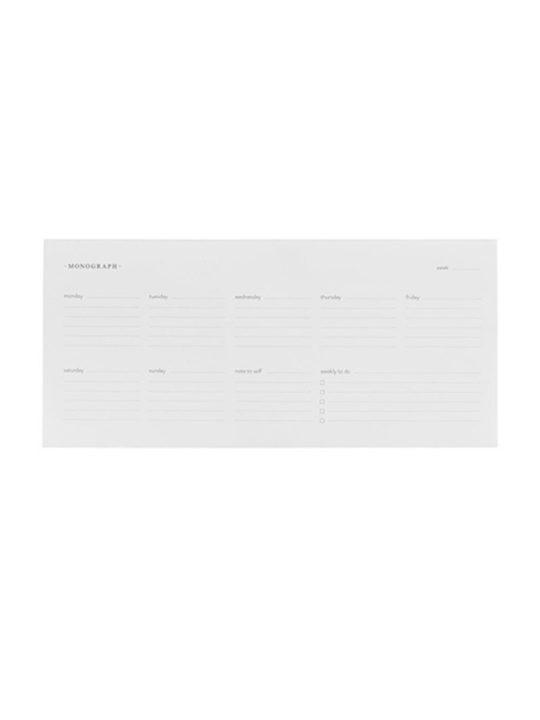 Monograph - Weekplanner - 120 blade