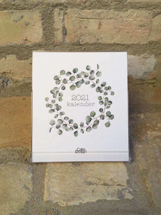 Calm Design - Kalender i boks 2021