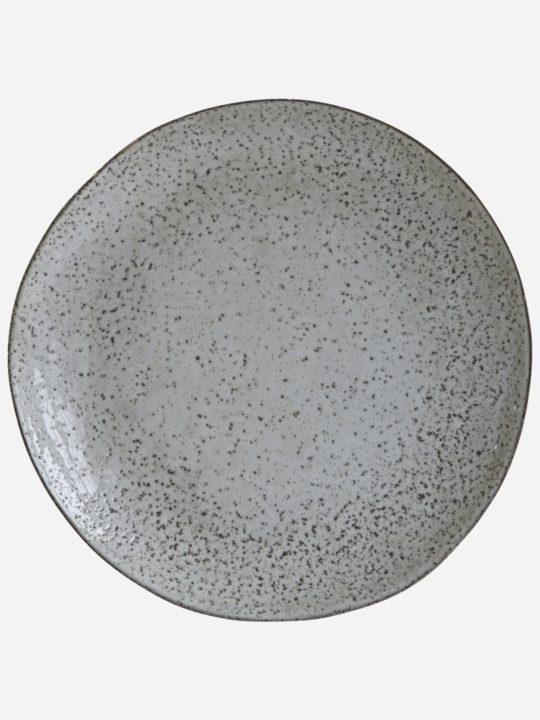 House Doctor - Rustic - Spisetallerken - Grå/Blå - 27,5 cm.