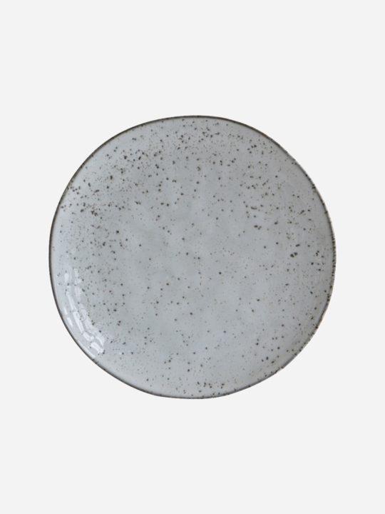 House Doctor - Rustic - Kagetallerken - Grå/Blå - 20,5 cm.