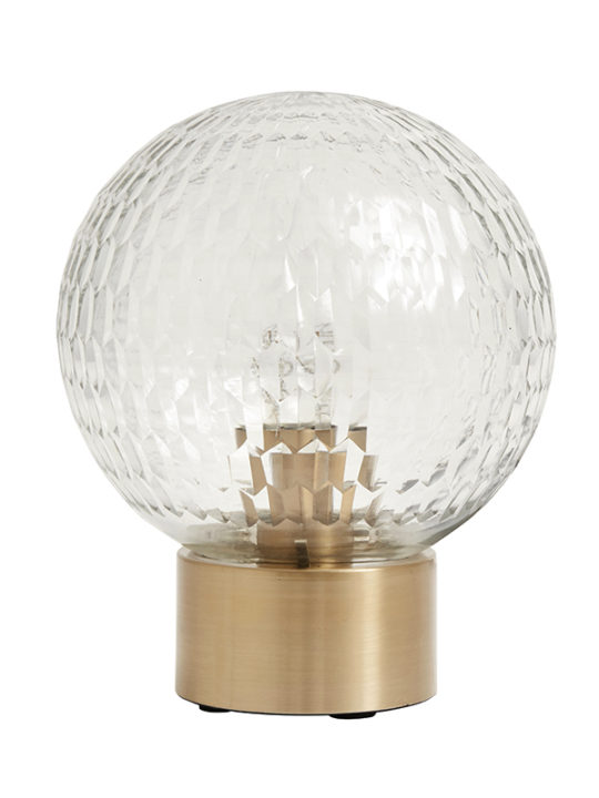 Nordal, Dome, Bordlampe, Messing