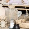 Ib Laursen - Lygte t/fyrfadslys m/bambusflet