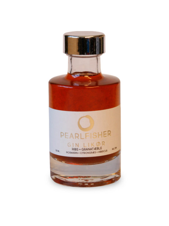 Pearlfisher - Ginlikør - Ribs/Granatæble - 100 ml.