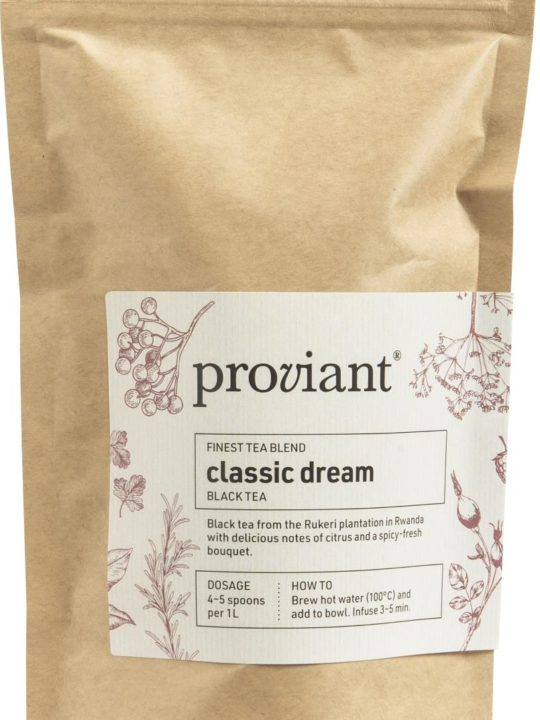 Proviant - Te - Classic Dream - Sort te i pose - 75 gr.