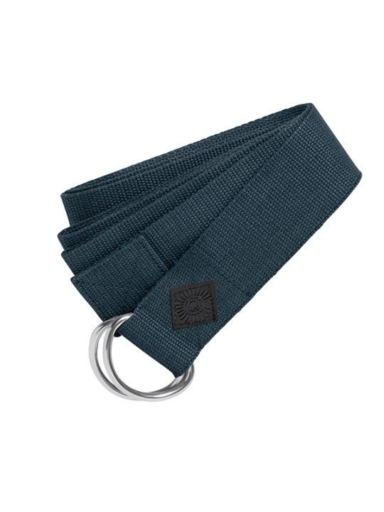 Nordal Yoga Træningsbælte - 200x4 cm - Blå