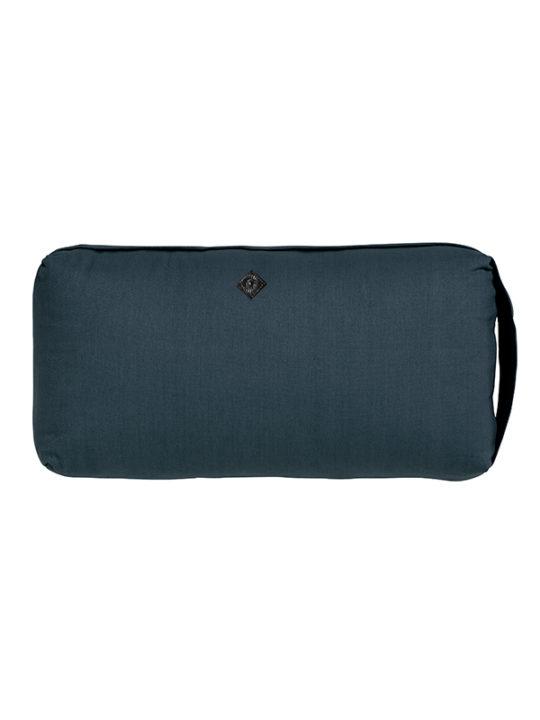 Nordal - Yoga meditations-pude - 40x20x8 cm - Blå
