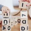 Ooh Noo - Alfabetklodser - Sort skrift