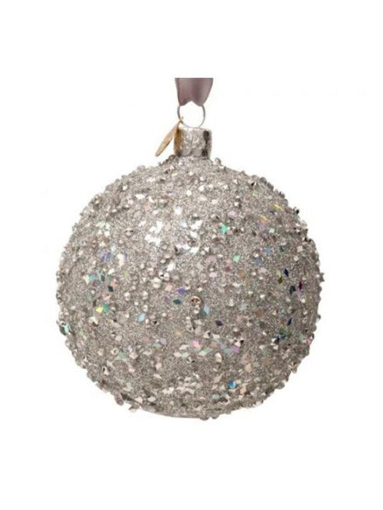 Vondels - Juletræspynt - Julekugle med diamanter - Mundblæst glas