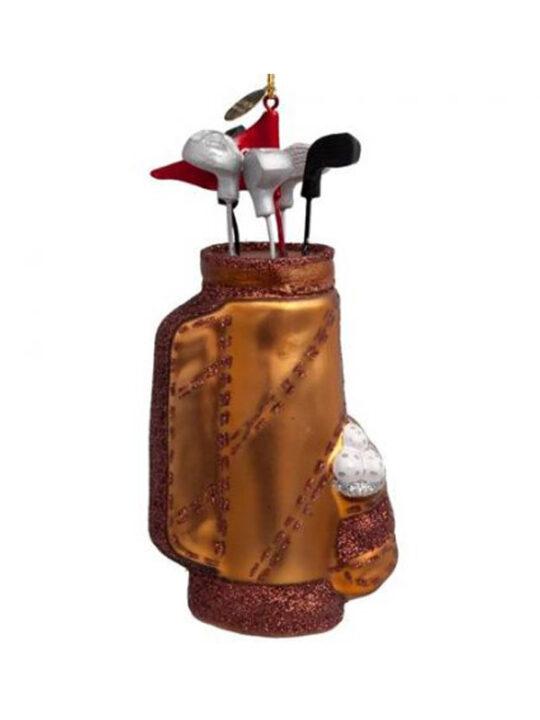 Vondels - Juletræspynt - Golftaske - Mundblæst glas