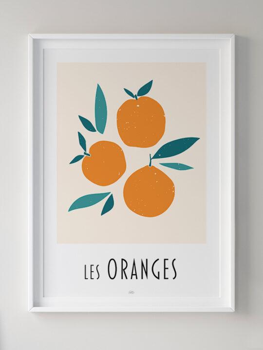 Calm Design - Plakat - Les Oranges