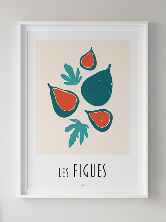 Calm Design - plakat - Les Figues