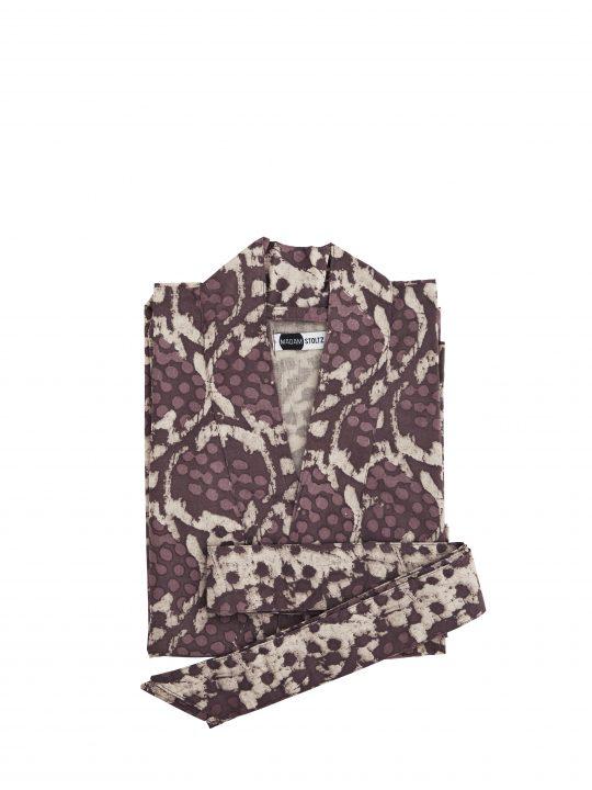 Madam Stoltz - Kimono - Rhodondendron - One size