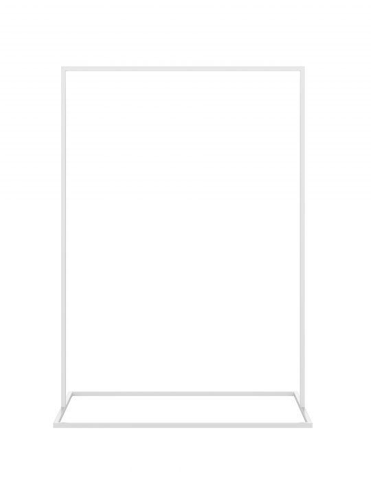 Malling Living - Garderobestativ - Hvid - Xtra Large