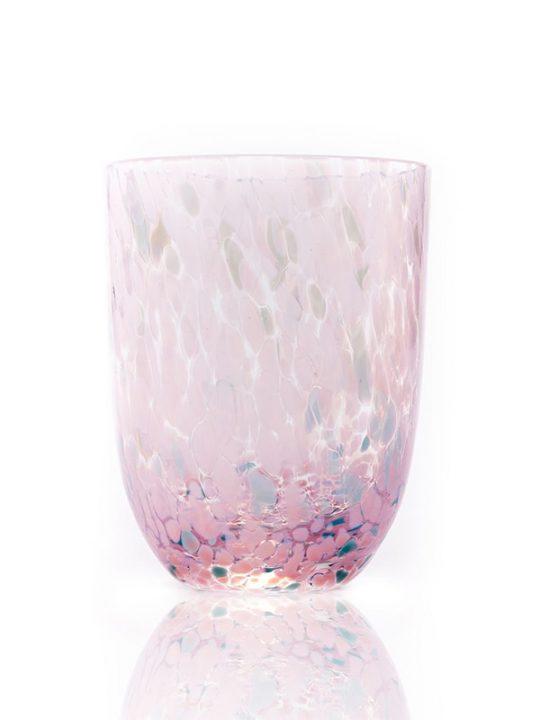 Anna von Lipa - Confetti - Krystalglas - Rosa og Turkis