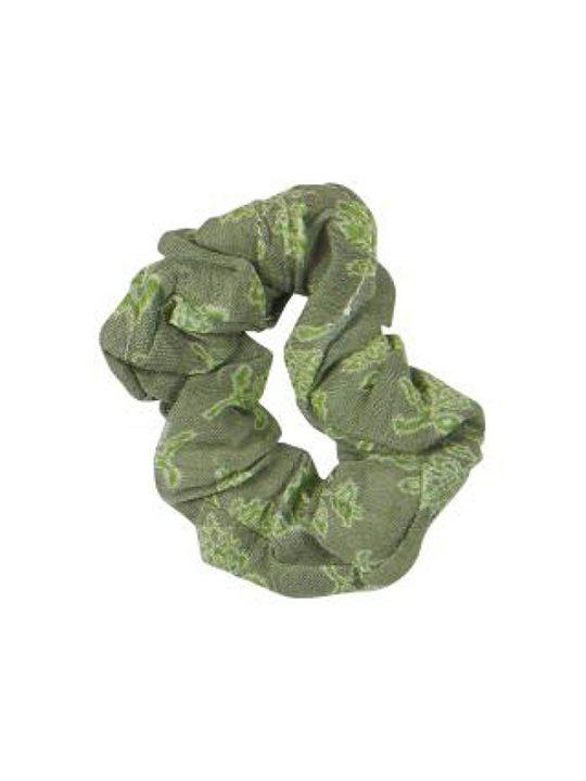 Ib Laursen - Scrunchie - Hårelastik - Grøn/Grøn