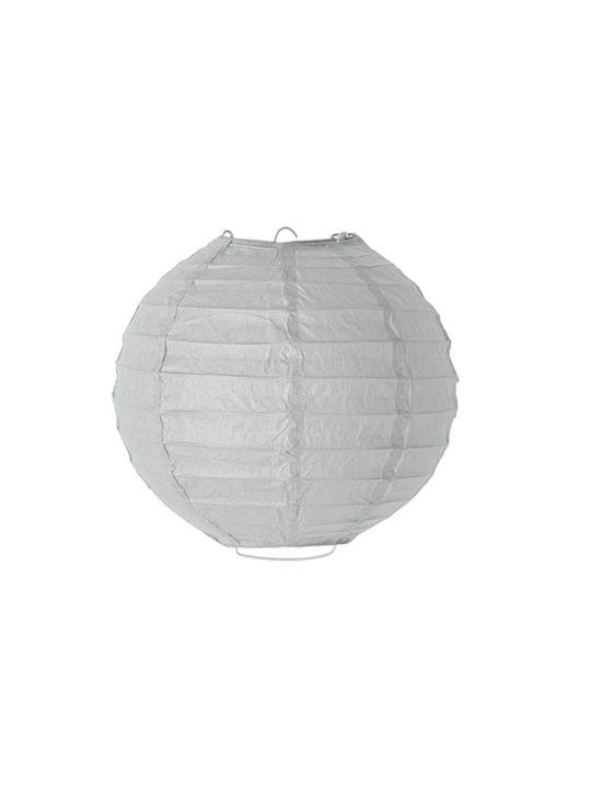 Bloomingville - Lampeskærm - rispapir - grå - 20 cm.