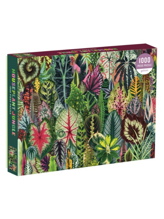Galison - Puslespil - Houseplant Jungle - 1.000 brikker