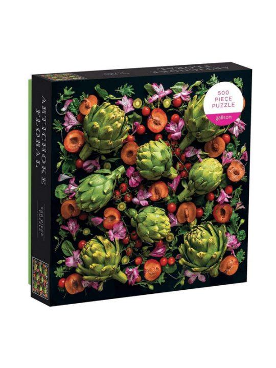Galison - Puslespil - Artichoke Floral - 500 brikker