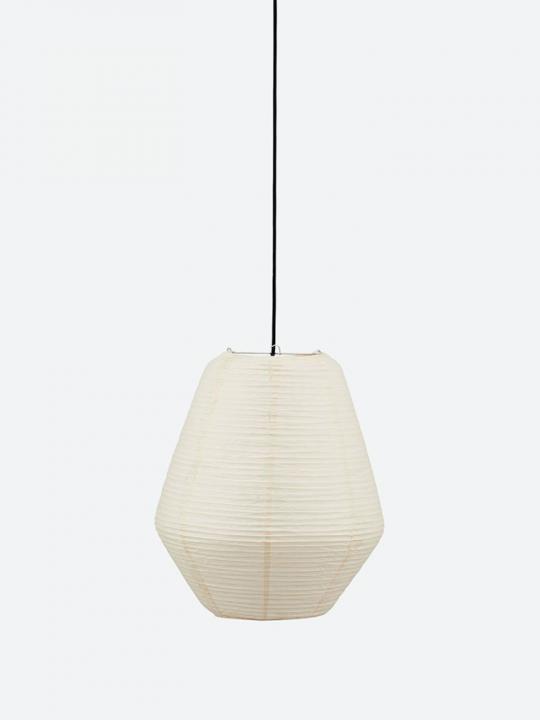 House Doctor - Lampeskærm - Bidar - Sand - 36x42 cm