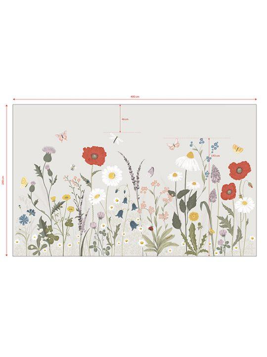 Lilipinso - Tapet - Vægdekoration - Across Fields - 400 x 248 cm.