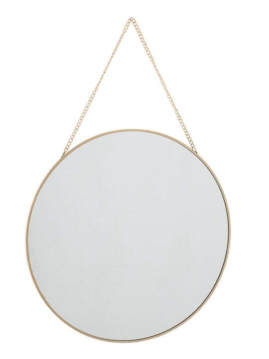 Bloomingville - Sibal - Spejl - Guld - 38 cm.