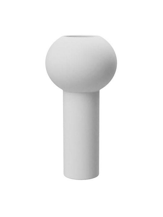 Cooee Design - Pillar Vase - Hvid - 24 cm