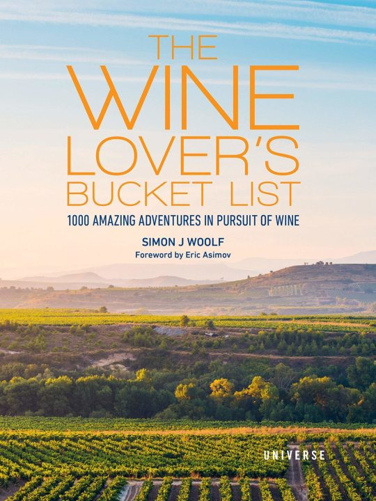 New Mags - Bog - The Wine Lover´s Bucket List - Wine - 416 sider