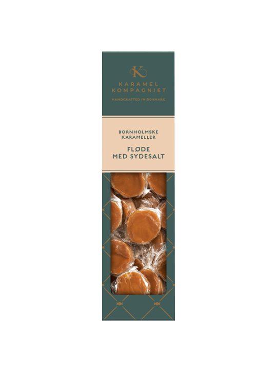 Karamel Kompagniet - Flødekarameller - Fløde med Sydesalt - 138 gr.