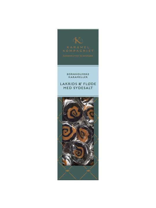 Karamel Kompagniet - Flødekarameller - Lakrids, Sydesalt og Fløde - 138 gr.